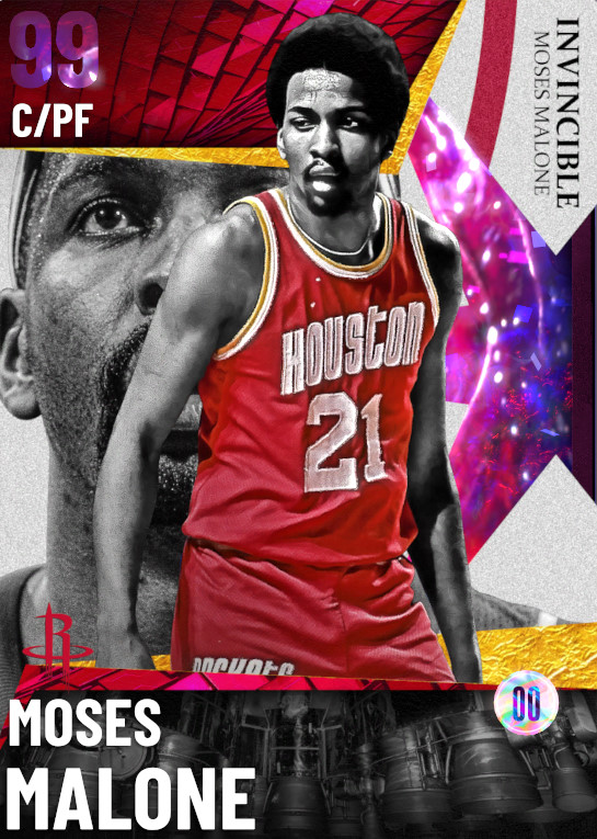99 Moses Malone | undefined