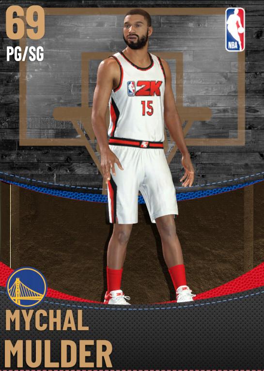 69 Mychal Mulder | Golden State Warriors