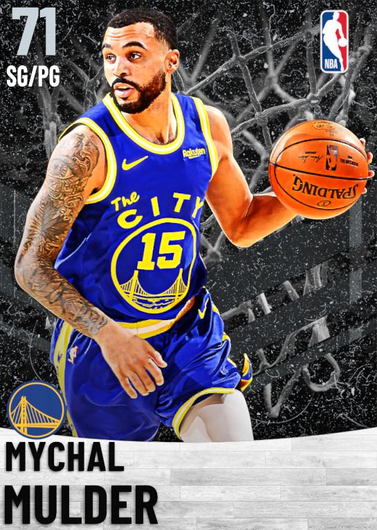 71 Mychal Mulder   Golden State Warriors