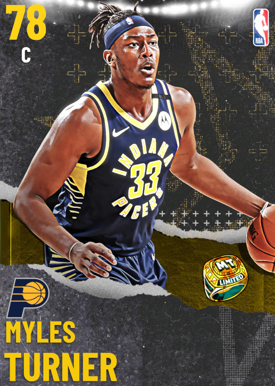 78 Myles Turner | undefined