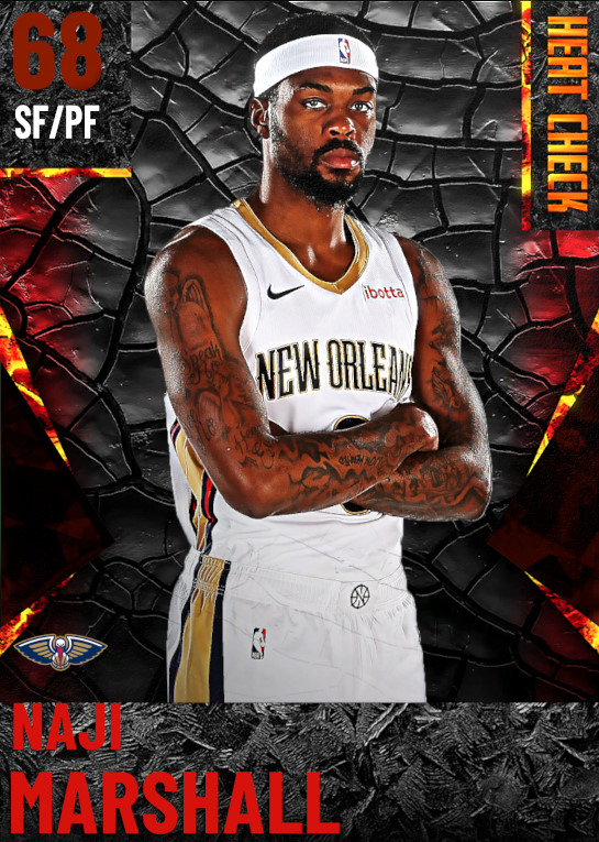 68 Naji Marshall | New Orleans Pelicans