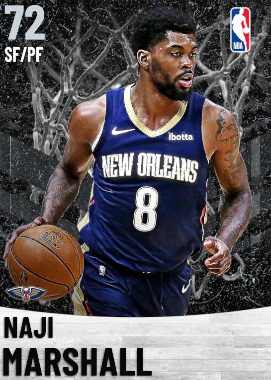 72 Naji Marshall   New Orleans Pelicans