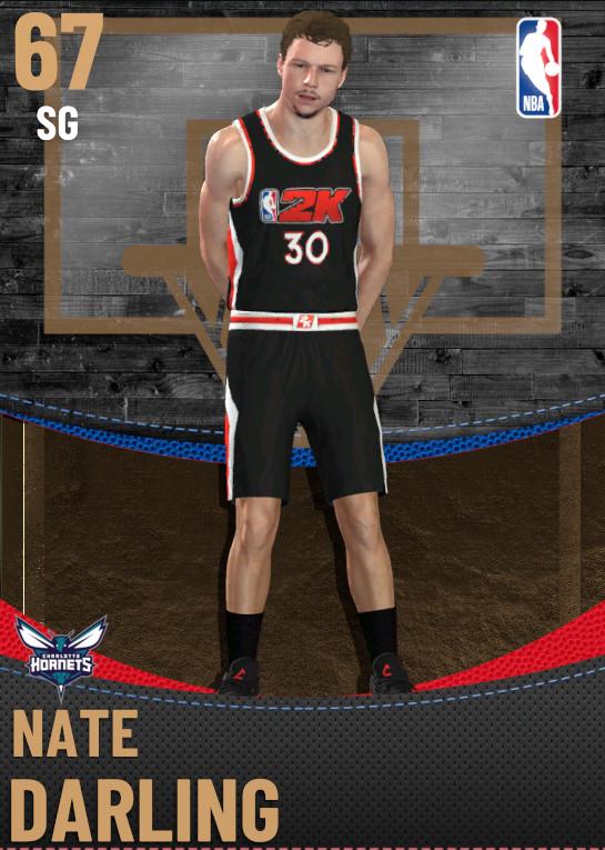 67 Nate Darling | Charlotte Hornets