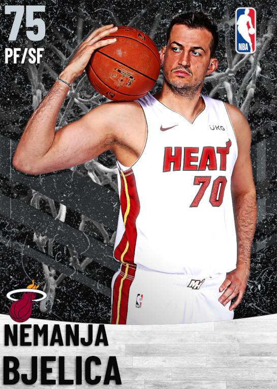 75 Nemanja Bjelica   Miami Heat