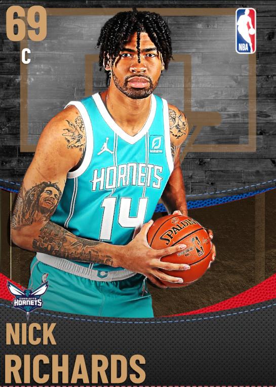 69 Nick Richards | Charlotte Hornets