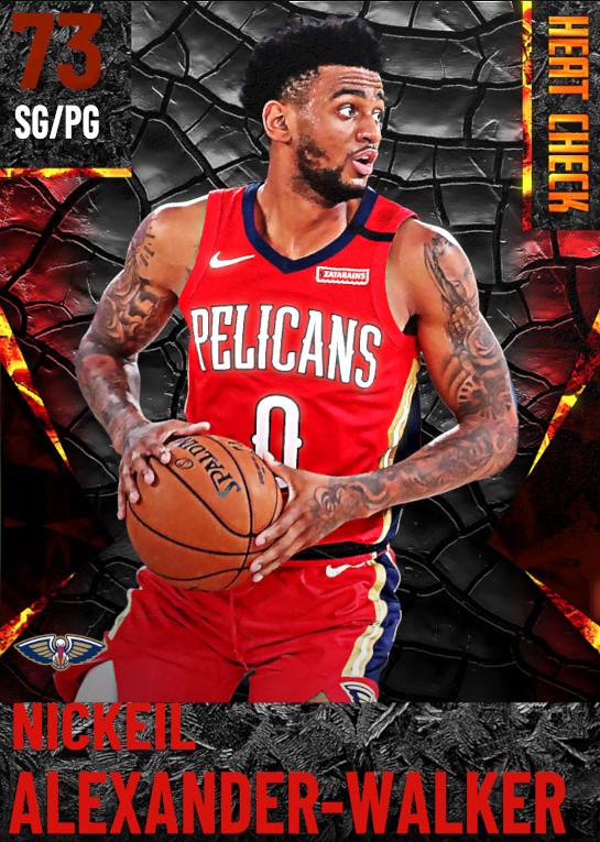 73 Nickeil Alexander-Walker | New Orleans Pelicans