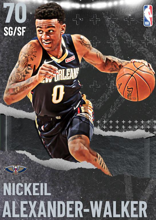 70 Nickeil Alexander-Walker   undefined
