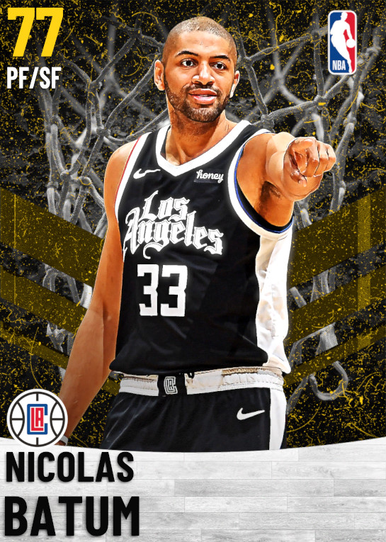 77 Nicolas Batum   Los Angeles Clippers
