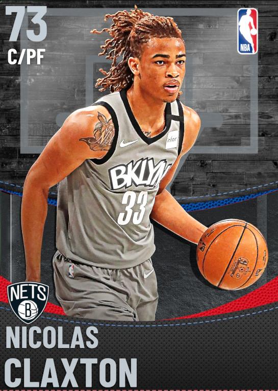 73 Nicolas Claxton | Brooklyn Nets
