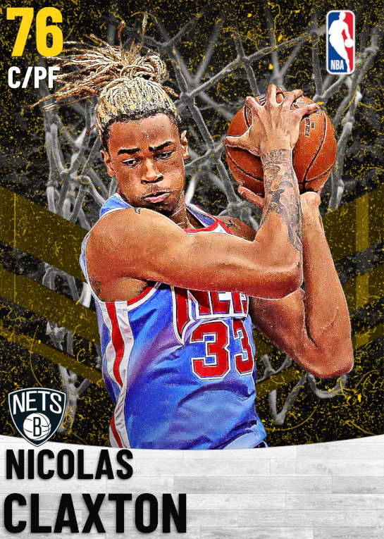 76 Nicolas Claxton   Brooklyn Nets