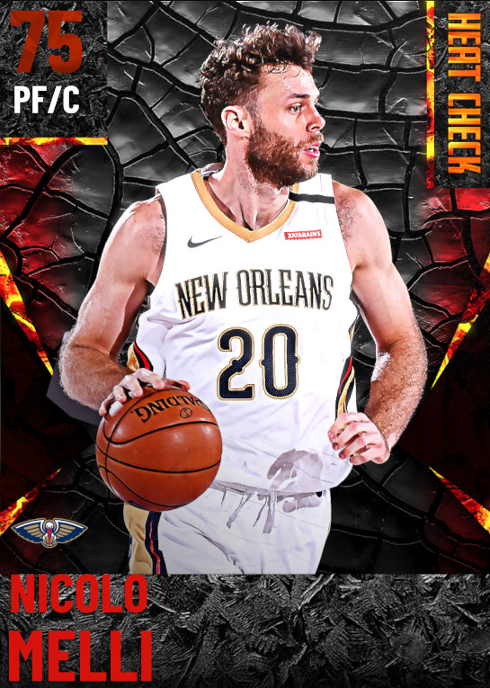75 Nicolo Melli | New Orleans Pelicans