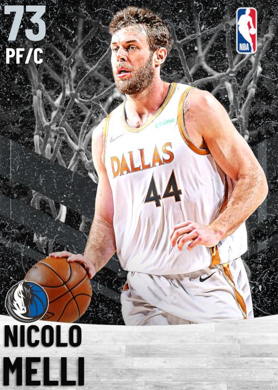 73 Nicolo Melli   Dallas Mavericks