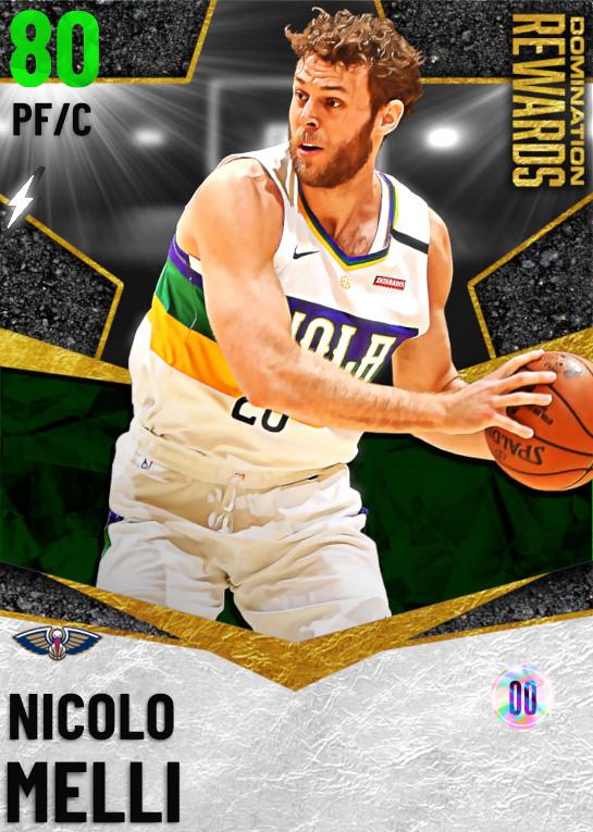 80 Nicolo Melli   Domination Rewards