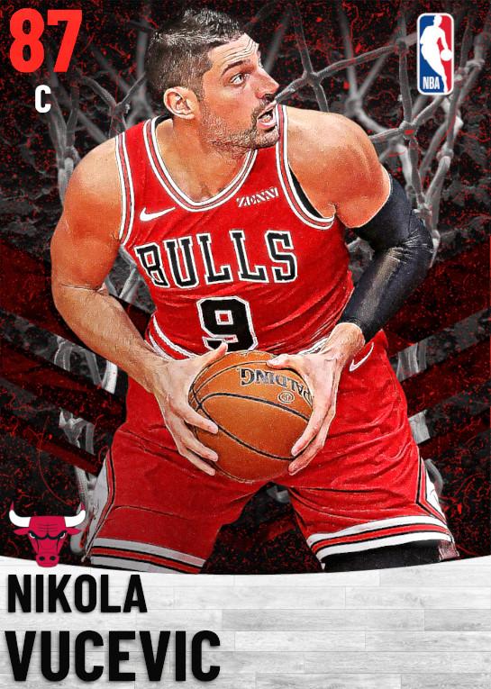 87 Nikola Vucevic   Chicago Bulls