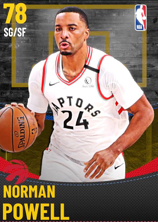 78 Norman Powell | Toronto Raptors