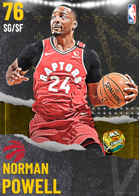 76 Norman Powell | undefined