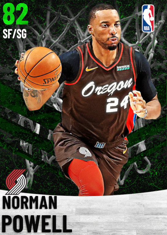 82 Norman Powell   Portland Trail Blazers