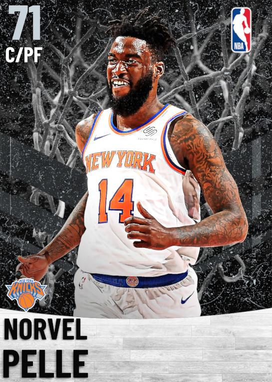 71 Norvel Pelle   New York Knicks