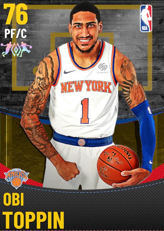 76 Obi Toppin | New York Knicks