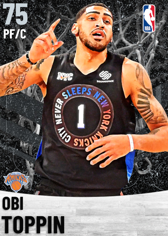75 Obi Toppin   New York Knicks
