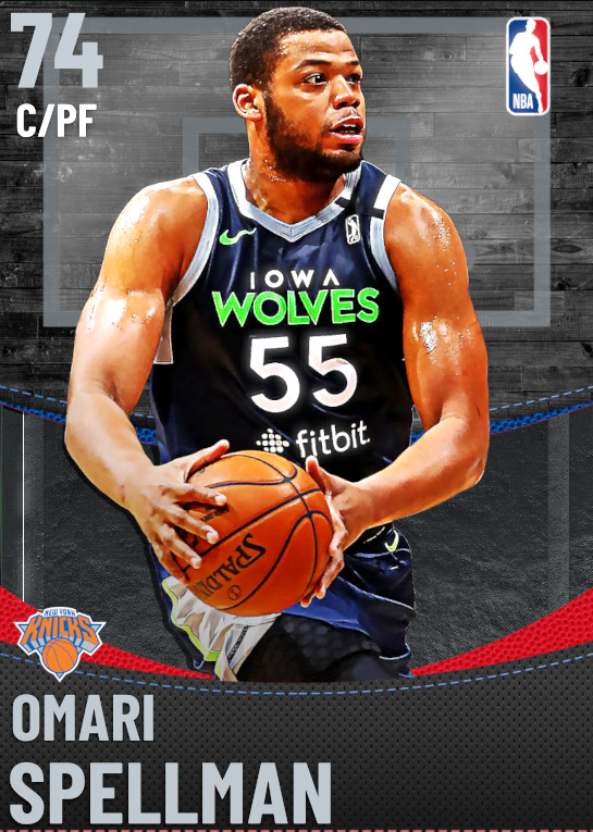 74 Omari Spellman | New York Knicks