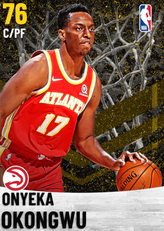 76 Onyeka Okongwu   Atlanta Hawks