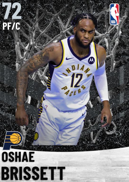72 Oshae Brissett   Indiana Pacers