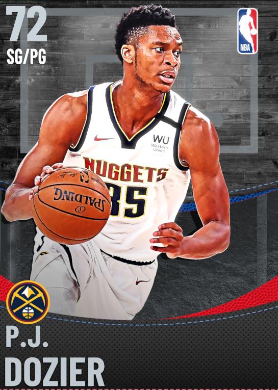 72 P.J. Dozier | Denver Nuggets