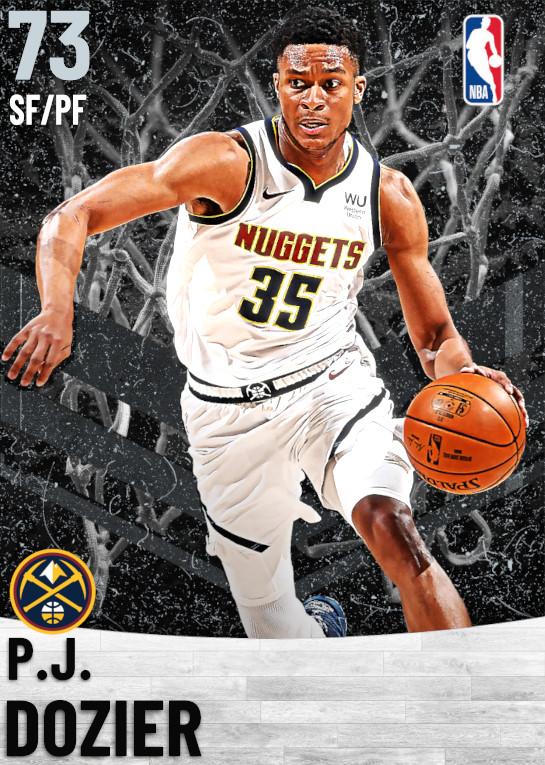 73 P.J. Dozier   Denver Nuggets