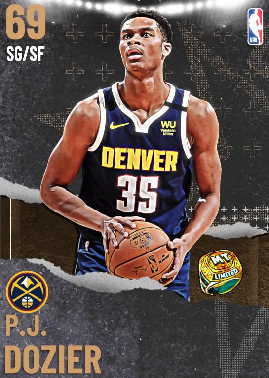 69 P.J. Dozier | undefined