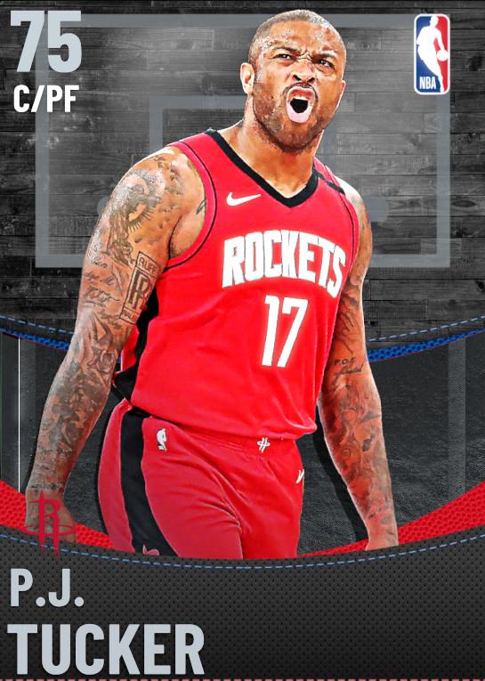 75 P.J. Tucker | Houston Rockets