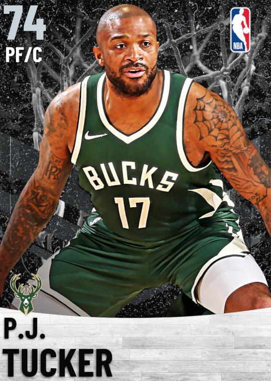 74 P.J. Tucker   Milwaukee Bucks
