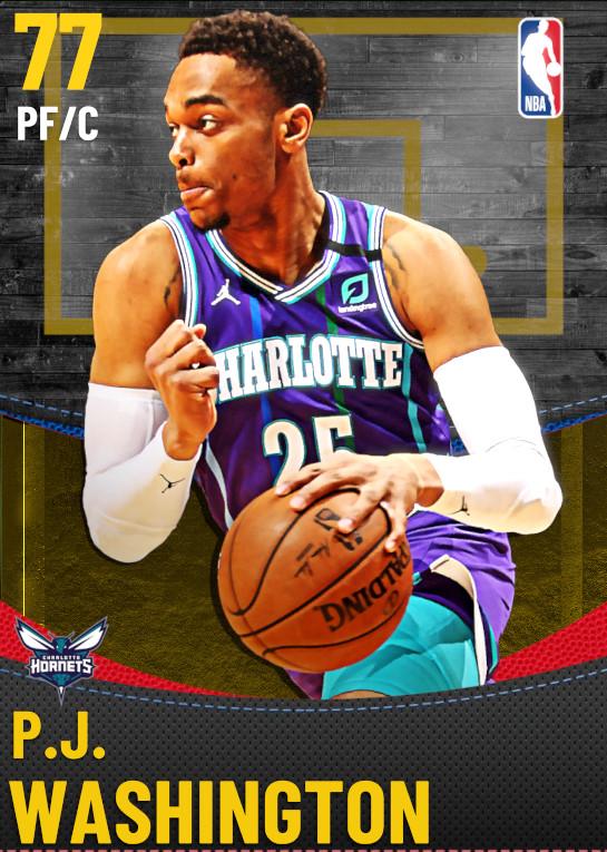 77 P.J. Washington | Charlotte Hornets
