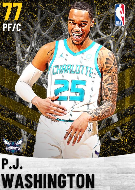 77 P.J. Washington   Charlotte Hornets