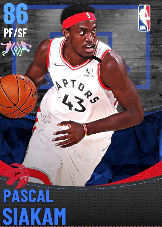 86 Pascal Siakam | Toronto Raptors
