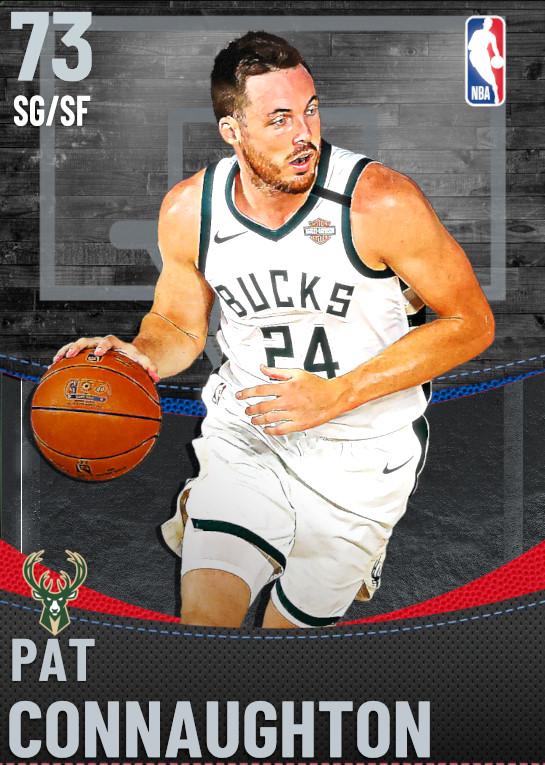 73 Pat Connaughton | Milwaukee Bucks