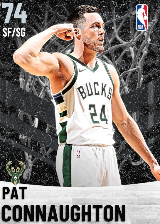 74 Pat Connaughton   Milwaukee Bucks