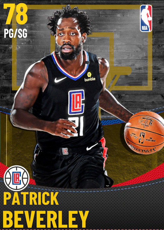 78 Patrick Beverley | Los Angeles Clippers
