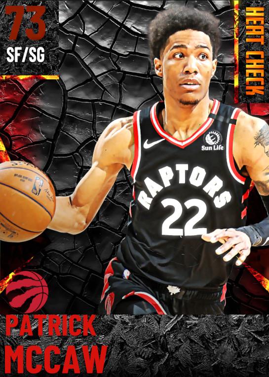 73 Patrick McCaw | Toronto Raptors