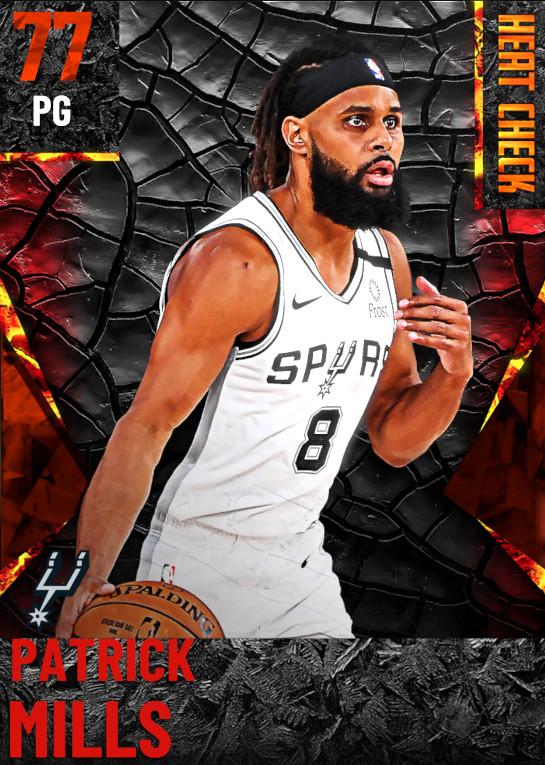 77 Patrick Mills | San Antonio Spurs