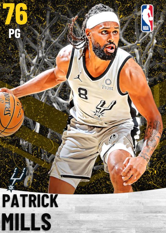 76 Patrick Mills   San Antonio Spurs