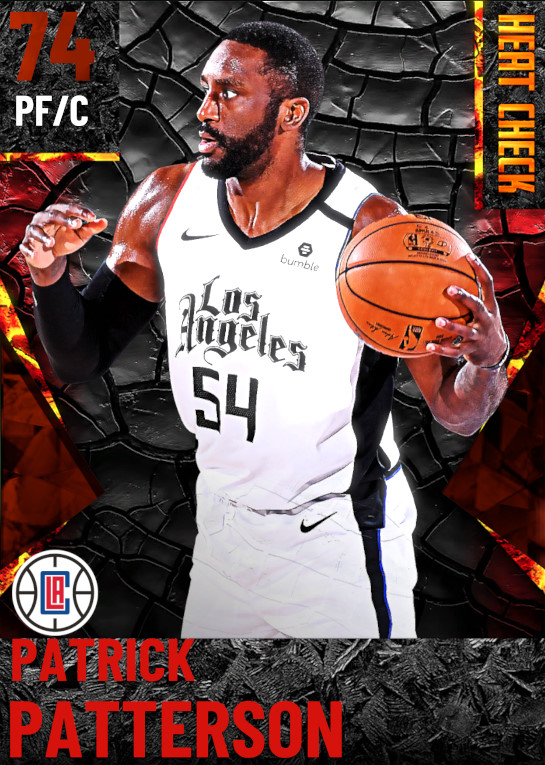 74 Patrick Patterson | Los Angeles Clippers