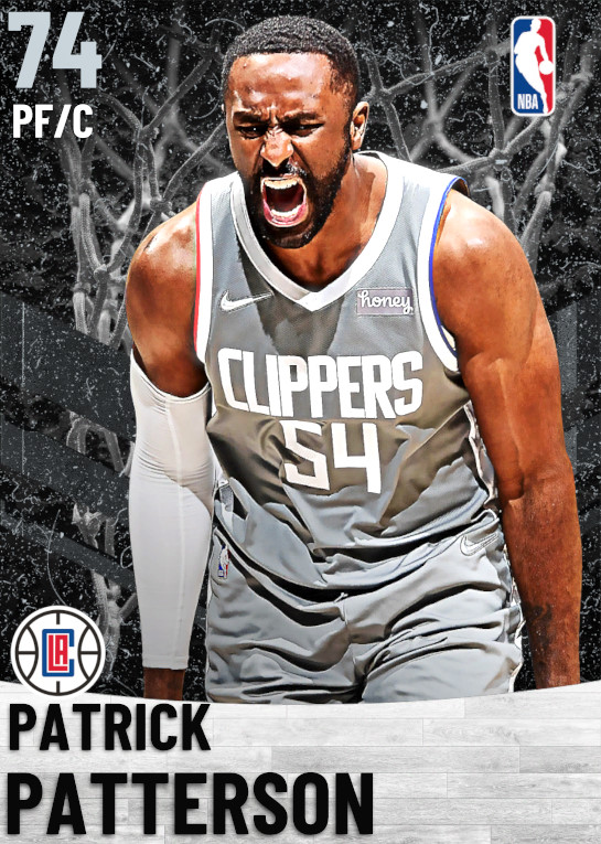 74 Patrick Patterson   Los Angeles Clippers