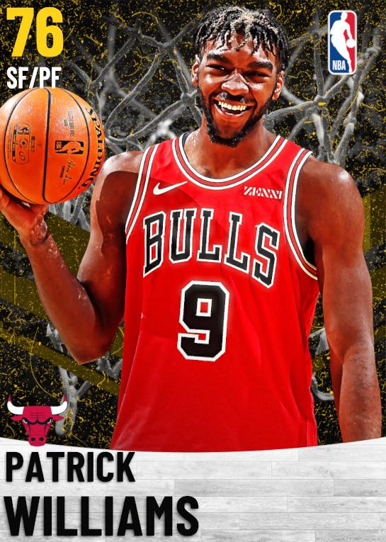 76 Patrick Williams   Chicago Bulls