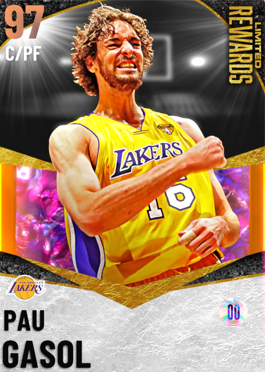97 Pau Gasol | Limited Rewards