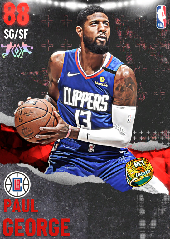 88 Paul George | undefined
