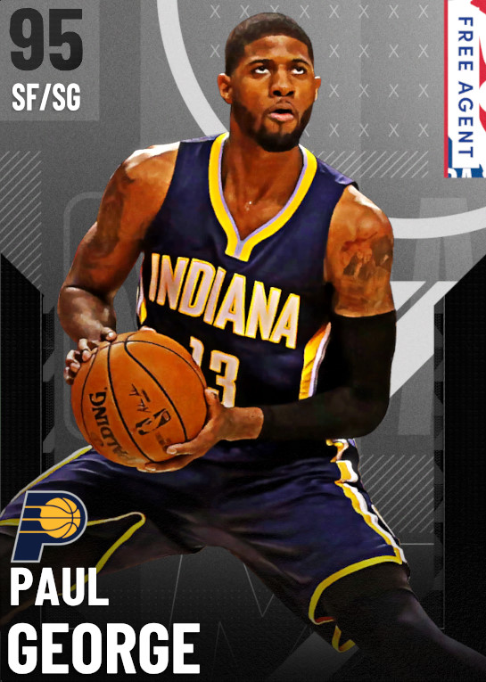 95 Paul George | undefined