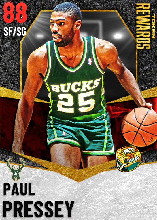 88 Paul Pressey | undefined