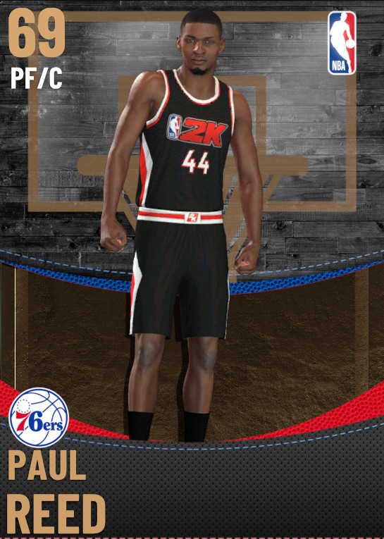69 Paul Reed | Philadelphia 76ers
