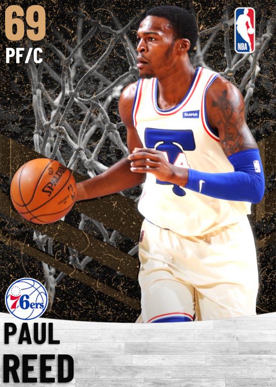 69 Paul Reed   Philadelphia 76ers